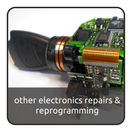 other electronics repairs and reprogramming